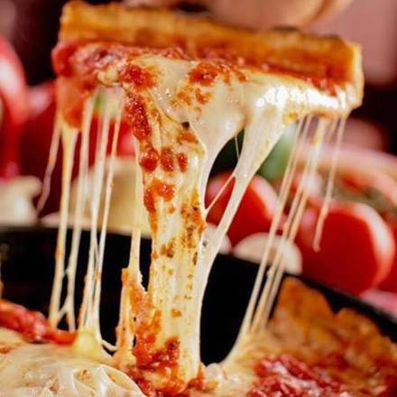 Pizano's Pizza Chicago pizza;