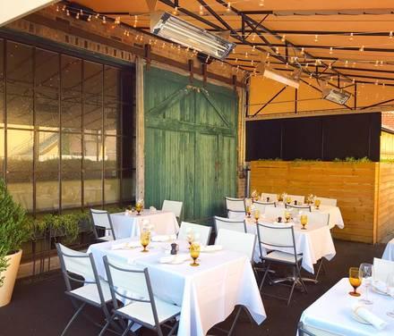 The Barn Steakhouse best greek in chicago;