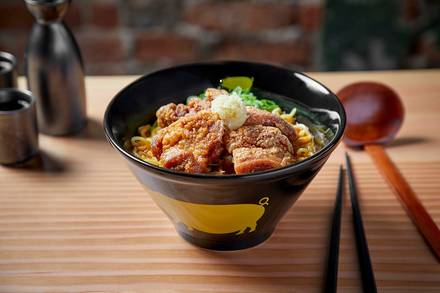 KINTON RAMEN  best chicago rooftop restaurants;