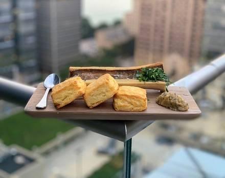 WoodWind best chicago rooftop restaurants;