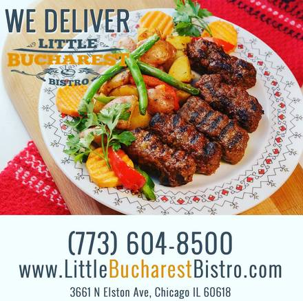 Little Bucharest Bistro best fried chicken in chicago;