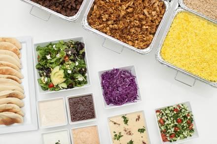 Mezza Grill - Madison Street best comfort food chicago;