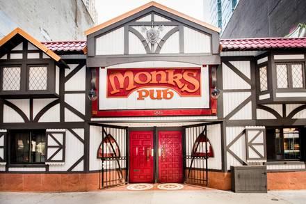 Monk's Pub best chicago rooftop restaurants;