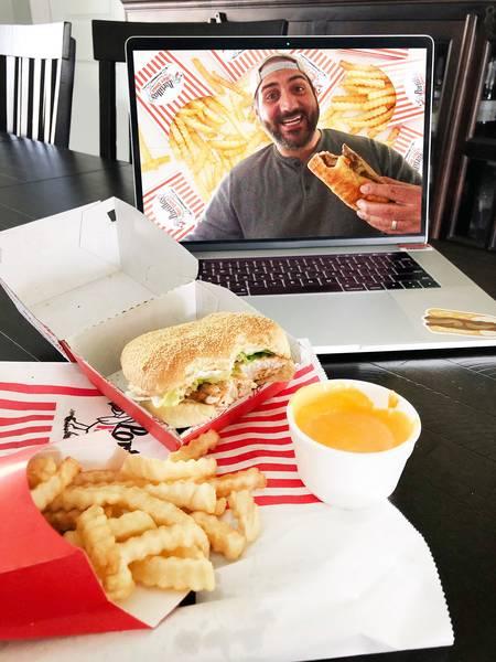 Portillo's Hot Dogs / Barnelli's Pasta Bowl