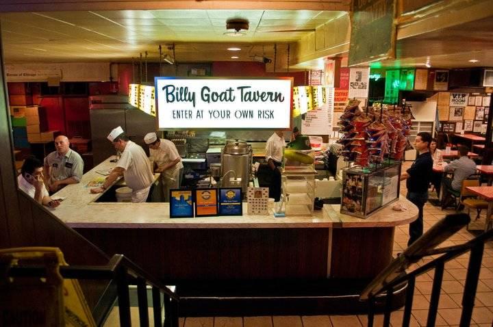 Billy Goat Tavern Navy Pier