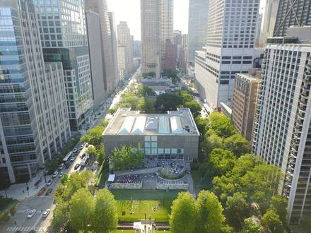 Museum of Contemporary Art Theater best french bistro chicago;