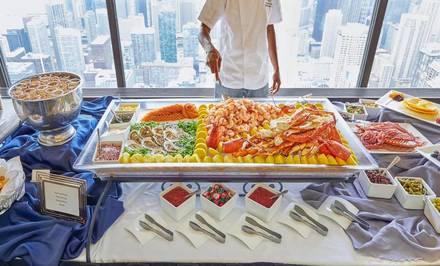 Signature Room Lounge at the 96th Floor best italian restaurant in chicago;