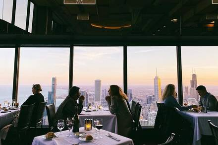 Signature Room Lounge at the 96th Floor best german restaurants in chicago;