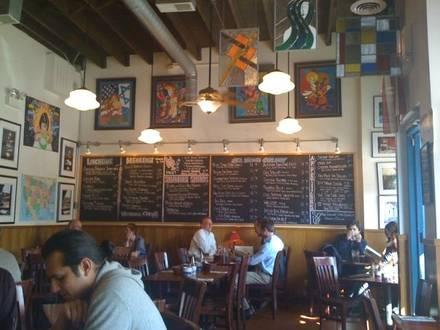 Glenn's Diner best greek in chicago;