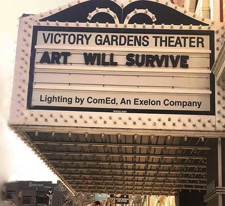 Victory Gardens Biograph Theater best comfort food chicago;