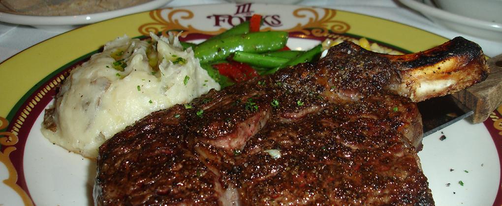 III Forks, Los Angeles Best Steak