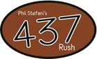 Phil Stefani's 437 Rush logo