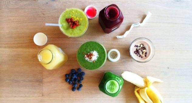 (Harvest Juicery's wholesome wares