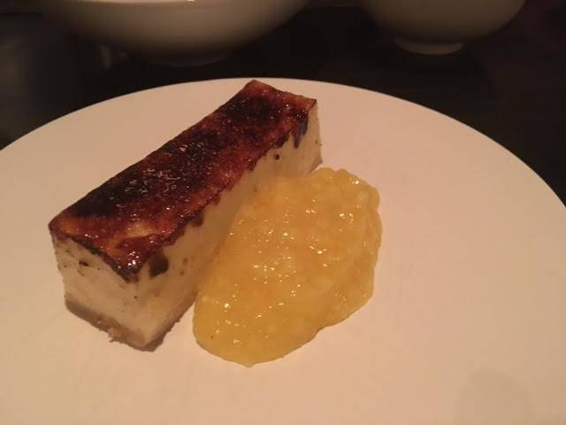 Sweet of the Week: Cheesecake Brûlée at Intro