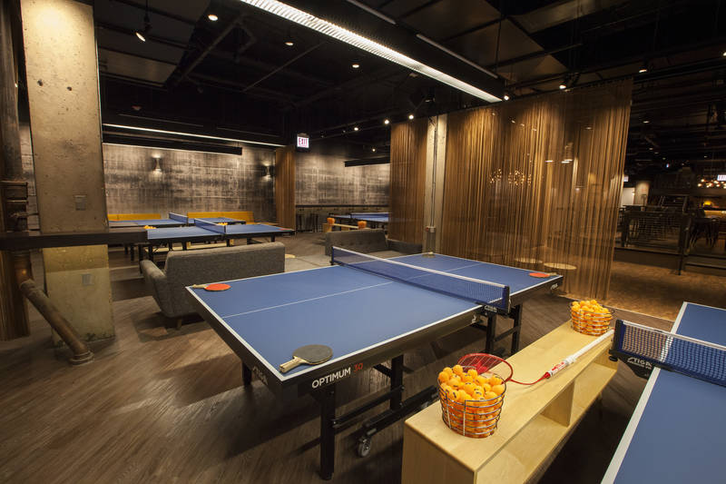 Everything You Need to Know About Chicago's New Ping Pong Social Club, Restaurant, and Bar