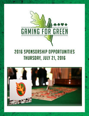 GAMING FOR GREEN