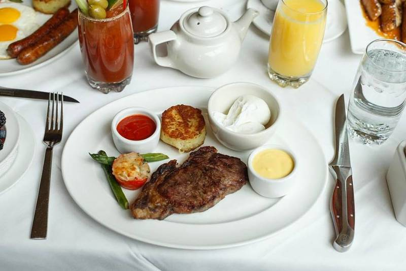Rise and Shine at Chicago's Best Spots for Steak and Eggs