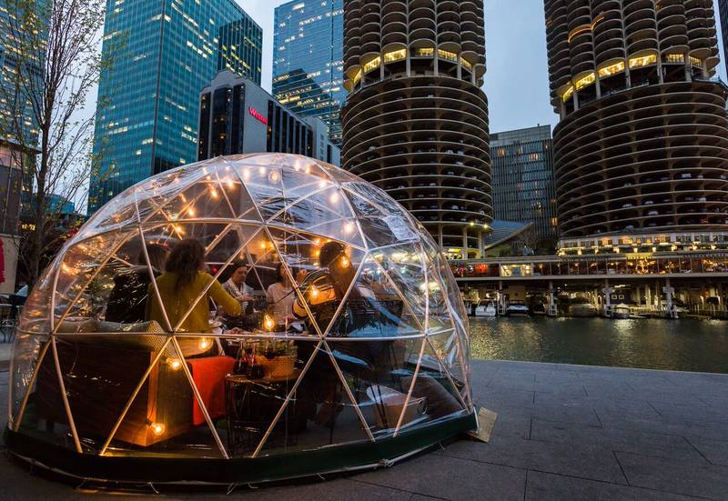 Weekly Planner: City Winery River Domes, Nonna's New Menu Items, Saint Lou's Happy Hour and More