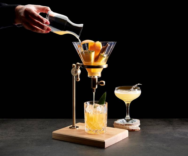 Pour Over Cocktails at III Forks Prime Steakhouse